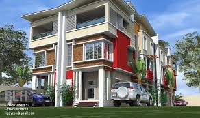 3 Bedroom Duplex by Architectural Designs By Blacklakehouse 4 Units Of 3 Bedroom