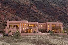 Southwestern Sconces Santa Fe Exterior Exterior Southwestern With Entrance Traditional