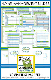 house planner free printable home planner organizing home management binder the best