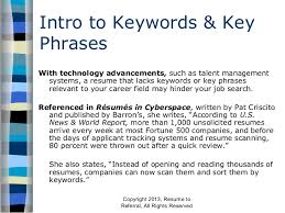 Scan Resume Keywords For Resumes Resume Templates