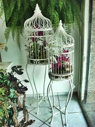 home interior bird cage unique vintage decor with beautiful flower arrangements and birdcages