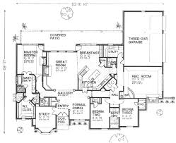 european style house plan 3 beds 2 5 baths 3327 sq ft plan 310