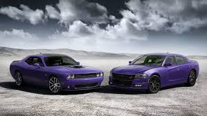 a dodge charger dodge charger and challenger go plum for