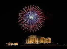 top 10 places in greece to go for new year s