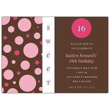 sweet 16 birthday invitations afoodaffair me