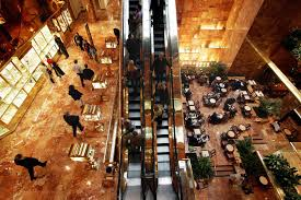 trumps home in trump tower inside trump tower donald trump s manhattan high rise the week