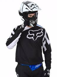 motocross fox clothing fox black 2017 180 race mx jersey fox freestylextreme america