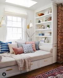 built in window seat built in window seat guest bed and storage rugs in bedroom