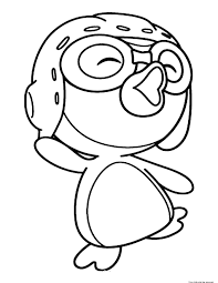 printable disney pororo the little penguin pororo coloring pages