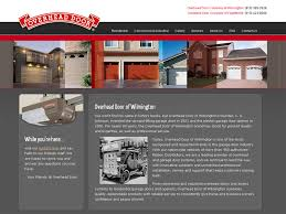 Overhead Door Wilmington Nc Web Design Portfolio Website Design Projects Port City Digital