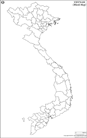 Blank Continent Map by Blank Map Of Vietnam Vietnam Outline Map