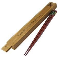 personalized japanese wood chopsticks hansonellis com