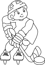 coloring pages elegant hockey coloring pages kids hockey