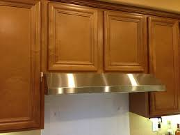 furniture glass and stainless steel range hood for kitchen