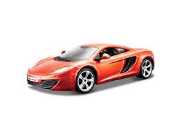 orange mclaren 12c bburago 1 24 mclaren mp4 12c diecast model car 18 21074v