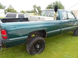 dodge cummins with stacks for sale find used 1995 dodge ram 2500 4x4 turbo diesel dual