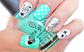 hearts stars u0026 splatters nail tutorial konad stamping my