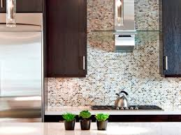 Tile Backsplashes For Kitchens Kitchen Small Kitchen Tile Backsplash Ideas With Brown Cabinet