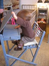 bureau enfant pliant bureau d écolier 1950 georges on the place