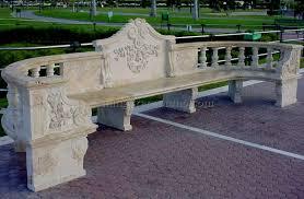 Concrete Patio Bench Concrete Garden Bench 12 Best Dining Room Furniture Sets Tables