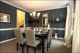 black dining room table and painted solid wood f with leather