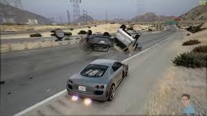 gta v car crash compilation 1 hollywood rollover edition youtube