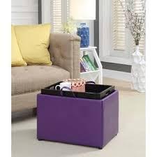Purple Storage Ottoman Purple Ottomans Storage Ottomans For Less Overstock