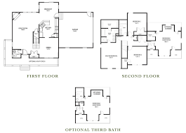 monticello second floor plan the richmond kirbor homes