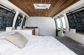 Cargo Van Desk Tiny Mobile Office Cargo Van Converted Into Cozy Work Studio