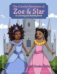 a list of coloring books that feature black characters u2014 bino and