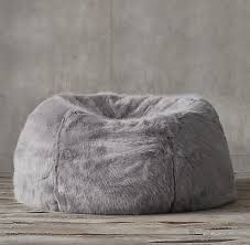 ultra faux fur bean bag collection rh