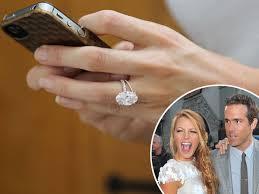lively wedding ring splashed 2m on lively s wedding ring says
