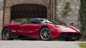 pagani huayra red pagani huayra if da vinci made a sports car
