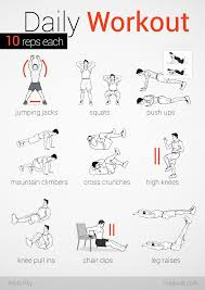 easy workout plans at home no equipment easy workout imgur