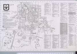 Uri Campus Map University Of Missouri Columbia Campus Map 2004