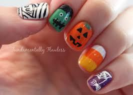 halloween nails fundamentally flawless polish party october halloween nails