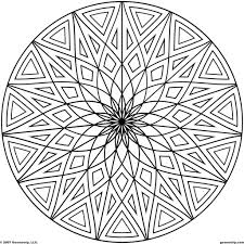 coloring pages cool coloring pages to print cool geometric