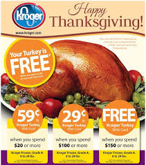 build a menu archive get a free turkey at kroger fred