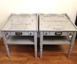 decoupage home decor 24 ideas for small table makeovers in the garage