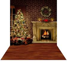 backdrops for photography christmas backdrop with floor warmth