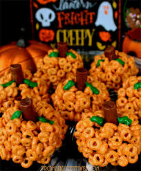 gluten free pumpkin spiced cereal treats my pennywise