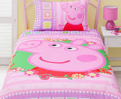 Peppa Pig Single Duvet Set Catch Com Au Peppa Pig U0027i Love Peppa U0027 Single Quilt Cover Set