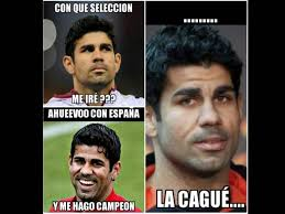 Diego Costa Meme - memes selección española brasil 2014 la voz popular