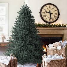 christmas christmas splendi costco tree ge feet pre lit led