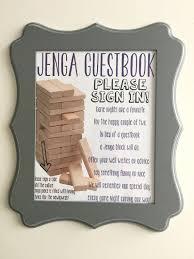 guest book sign in teki 25 den fazla en iyi jenga guest book fikri konuk