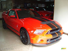Mustang Red And Black 2013 Race Red Ford Mustang Shelby Gt500 Svt Performance Package