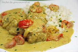 cuisiner avec du lait de coco curry de lotte au lait de coco péché de gourmandise