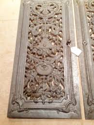 pair antique french cast iron doors in inglenook u0026 fireplace