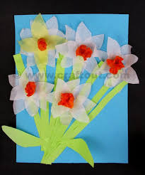 Making Flowers Out Of Tissue Paper For Kids - 36 best spring crafts images on pinterest spring and