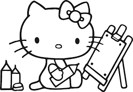 free kitty coloring pages 5323